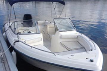 Book 21' Dual Console Boat Rental in Riviera Beach Marina on Viator