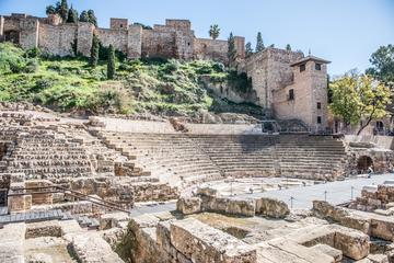 Roman theatre and Alcazaba castle Tour
