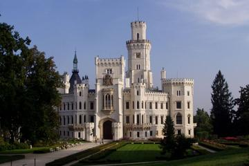 Hluboka Castle and Holasovice and Cesky Krumlov Overnight Tour From Prague