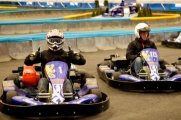 Indoor Go-Kart Experience in Horni Pocernice from Prague