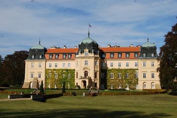 Private Tour: Schloss Lány, Burg Krakovec und Krusovice-Brauerei ab...