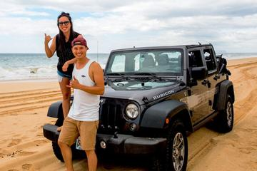 オアフ島を巡るプライベートサファリジープツアー
