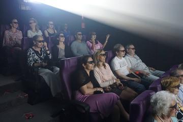 Experiência de cinema 4D da Batalha de Santo Domingo