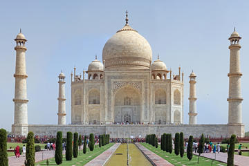 Taj Mahal and Agra Fort Private Day