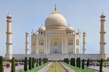Tour giornaliero privato del Taj Mahal e del Forte di Agra da Delhi