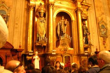 In einer kleinen Gruppe Papst Franziskus Tour