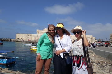 Private Alexandria Day Tour Including Lunch from Cairo Excluding Tickets