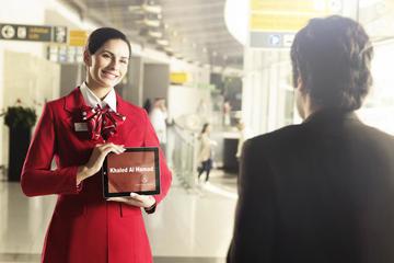Accoglienza e assistenza all'arrivo all'aeroporto internazionale di