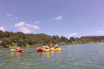 Canoeing at Furnas Lake