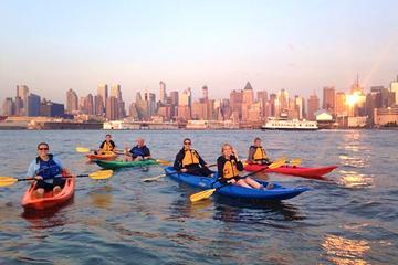 Kajaktour voor beginners: skyline van Manhattan