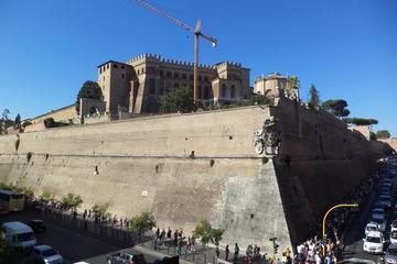 プライベート ツアー:バチカン美術館とサン・ピエトロ大聖堂を巡る送迎付きデラ…