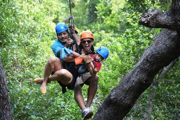 Roatan extreme zip line and...