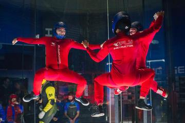 Esperienza di paracadutismo indoor
