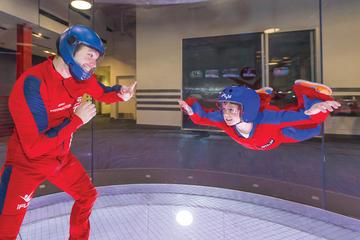 parachutisme en salle