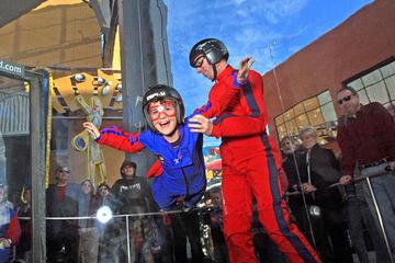 Los Angeles: Indoor-Fallschirmerlebnis für Neulinge