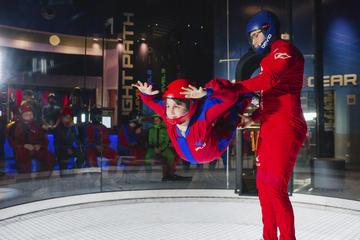 Salto in paracadute all'interno per principianti a Orlando