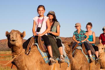 Excursion à dos de chameau à Alice Springs