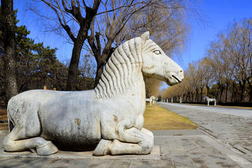 Beijing Private day tour to the UNESCO Heritage site: Ming Tombs including the Sacred road Dingling and Changling Tombs