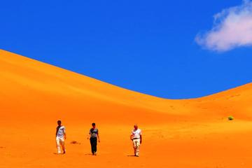 Private or Group Full Day Tour to Wahibah Sands Desert and Wadi Bani...