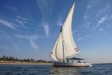 2-stündige Felukenfahrt auf dem Nil ab Kairo - bei Sonnenuntergang...