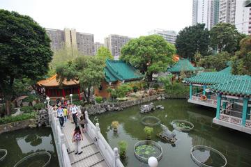 Excursão a pé de meio dia particular por Kowloon: templos, jardins e...
