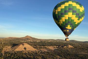 Full Day Teotihuacan Hot Air Balloon Tour from Mexico City