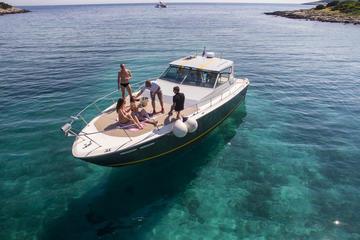 Blu tour in grotta con yacht dalla