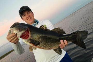 フォートピアース近郊オキーチョビー湖で半日釣り…