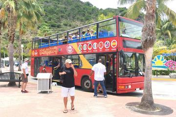 St Maarten Double Decker Bus Tour