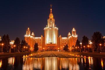 Private Führung: Moskau bei Nacht