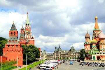 Tour privato di Mosca tour con visita alla Piazza Rossa e al Cremlino