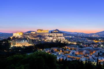 Excursão fotográfica em Atenas