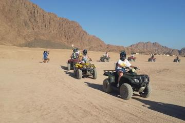 Best of Sharm El Sheikh Excursions- Quad Biking with Camel Ride & Bedouin Dinner