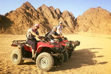 Hurghada Desert Safari - Sunset Quad Biking Trip with Camel Ride and BBQ Meal