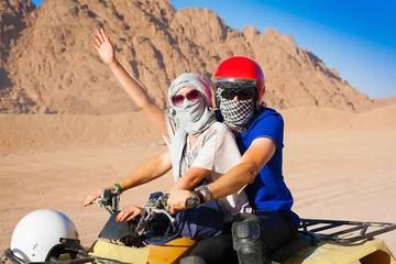 Hurghada Mega Safari Bedouin Safari by 4WD Jeep & Quad Bike & Camel Ride and BBQ