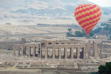 Luxor Hot Air Balloon Ride Flying over the Valley of the Kings and...
