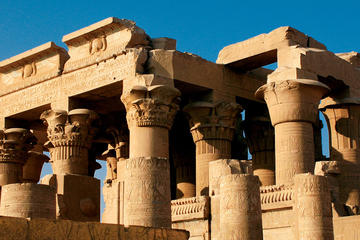 Private Day trip: From Aswan to explore  Komombo and Edfu temples plus Philae temple all with lunch included