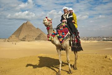 Private Half Day Trip to Giza Pyramids and sphinx with Camel Riding- Guide Inc