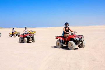 Sharm El Sheikh Excursion- Enjoy Quad Biking with Camel Ride & Bedouin Dinner