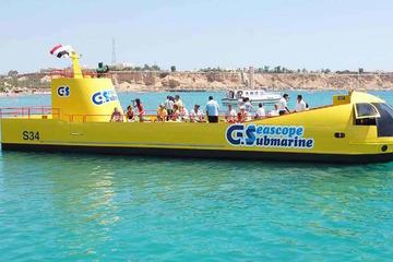 Sharm El Sheikh Semi Submarine Excursions -Aquascope Submarine Best Sea Trip