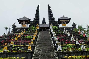 Private Chartered Car to Bali Temples With Kecak Fire Dance