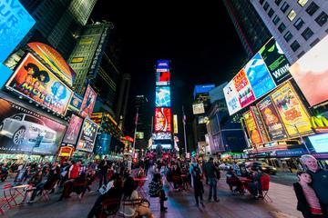 Recorrido nocturno por Nueva York en español