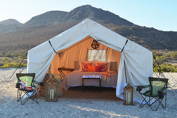 Two-Night Glamping Adventure at Camp Cecil on Isla Espiritu Santo