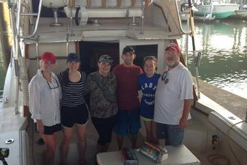 Galveston Texas Inshore Afternoon Fishing Charter On The Sea Play III