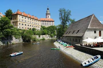 Scenic Transfer from Prague to Vienna Including Half-Day Sightseeing in Cesky Krumlov