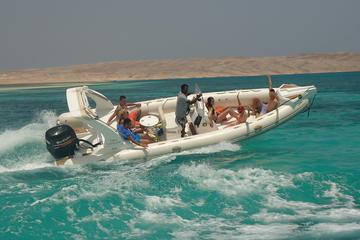 Führung im privaten Schnellboot ab...