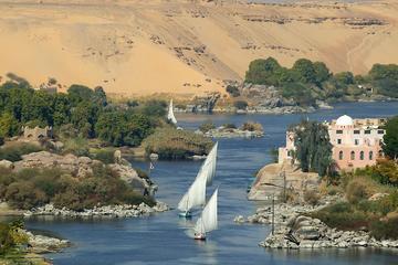 Aswan-Luxor 4-tägige Bootstour mit 3...