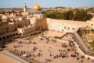 Jerusalem Bethlehem and Dead Sea Day Tour from Dahab