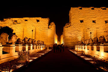 Private Tour to Sound and Light Show at Karnak Temple