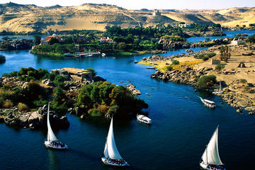 Sailing by Felucca in Aswan